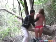 Horny-Teen-Fucks-Her-BF-In-The-Forest